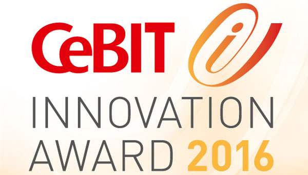 CeBIT Innovation Award 2016