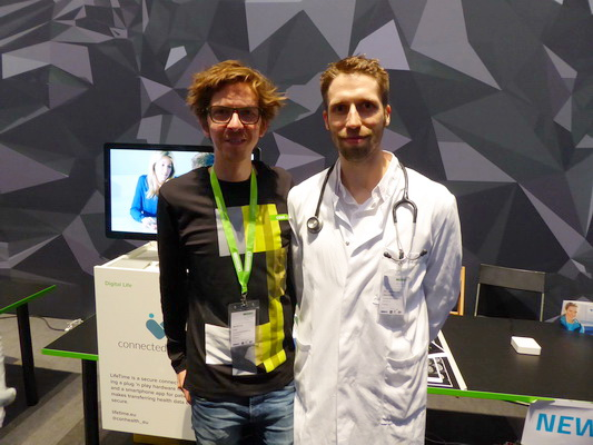 Matthias Lau, Tech Allrounder, CTO & Developer und Dr. med. Johannes Jacubeit (CEO),  Developer, Visionary & (Tech) Enthusiast